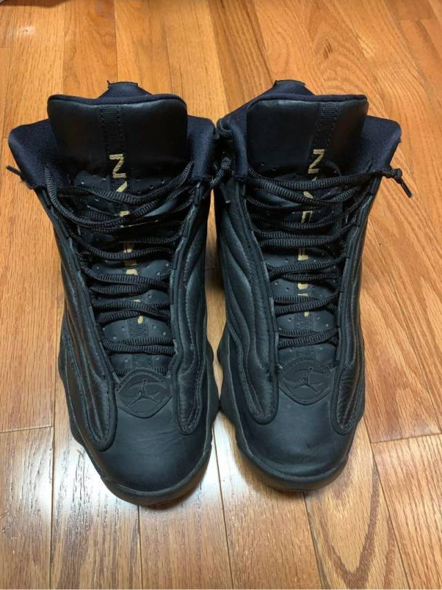 Jordan Pro Strong Mens Size 8 Black