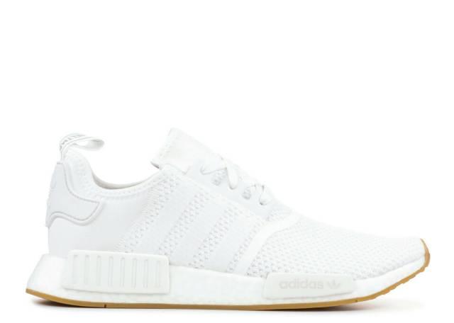 Men S Adidas Nmd R 1 White Gum Athletic Fashion Casual Everyday