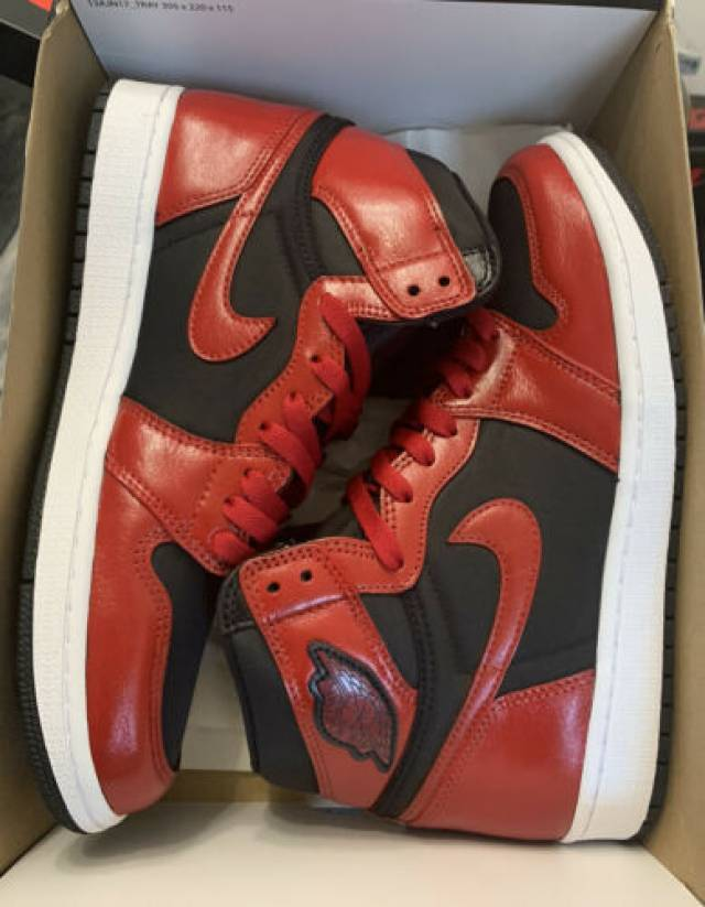 Nike Air Jordan 1 High OG Black Varsity