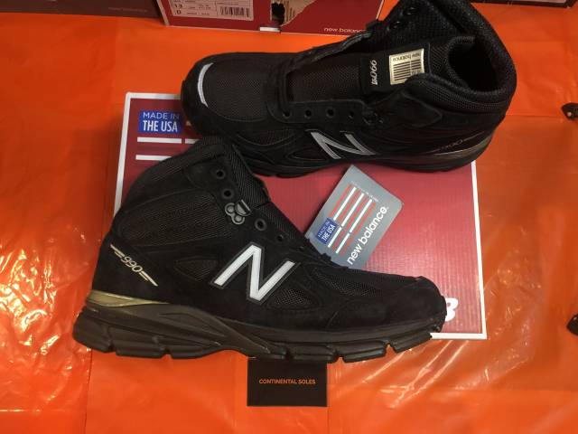 New Balance 990 Mid Boot Black MO990BK4