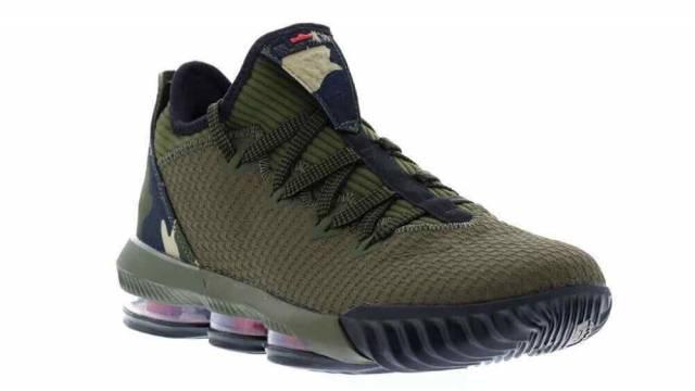 Nike LeBron XVI Low Camo Basketball