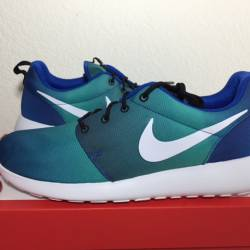 2015 nike roshe run one  blue ...