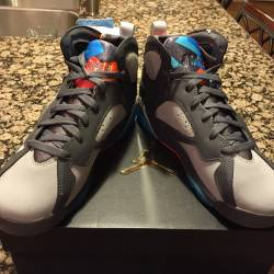 Air jordan 7 bobcats 7y gs bar...