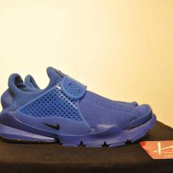 Nike sock dart sp blue sz 10 i...