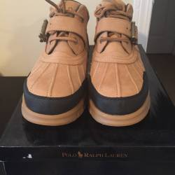 Polo boots, low top chukka