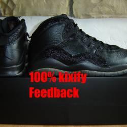 Air jordan 10 ovo black free s...