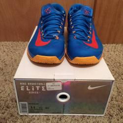Nike kd 6 elite blue orange