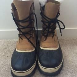 Sorel winter boots - top of th...