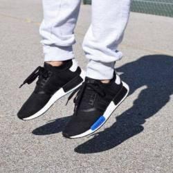 Adidas nmd black blue size11 us