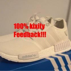 Adidas nmd r1 triple white mes...