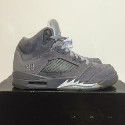 Nike air jordan 5 wolf grey