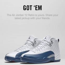 Air jordan retro 12 french blue