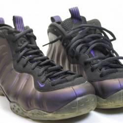 Nike foamposite one eggplant