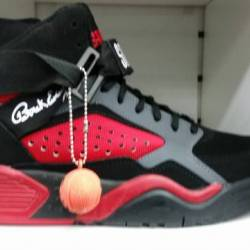 Patrick ewing black/red mens n...