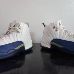 Air jordan 12 french blue air ...