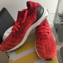 Adidas ultra boost uncaged red