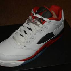 Jordan retro 5 low - boys' gra...