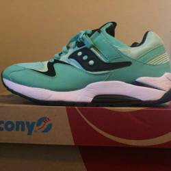 Saucony grid 9000 mint