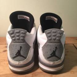 Nike air jordan iv 4 retro whi...