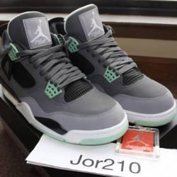 "Nike air jordan 4 iv grey ""gre..."