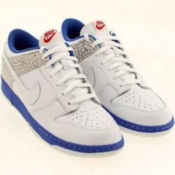 Ds nike air dunk low cl cement...