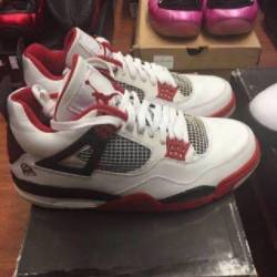 Jordan 4 size 9 fire red 2006 ...