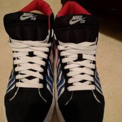 Nike sb blazer blue zebra