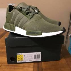 Nmd r1 olive euro exclusive