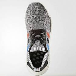 Adidas nmd r1 tri color white