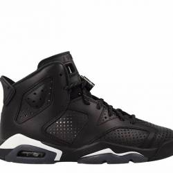 Air jordan 6 retro (bg) black ...