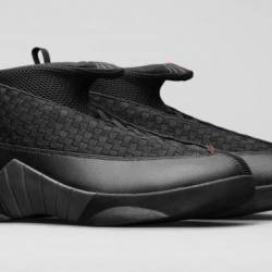 Air jordan 15 og stealth black...
