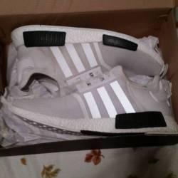 Adidas nmd - white  black