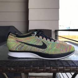 Nike flyknit racer multicolor ...