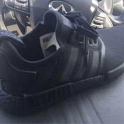 Adidas nmd triple black men sz...