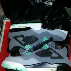 Jordan iv 4 green glow *brand ...