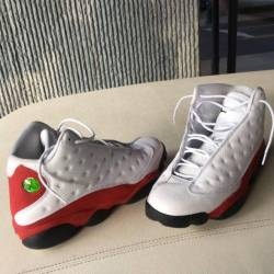 White/red 13s