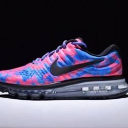 Nike air max 2017 pink blue black