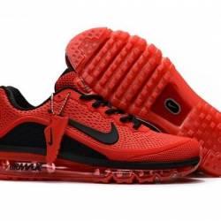 Nike air max 2017 red  and bla...