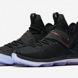Nike lebron 14 black black-uni...
