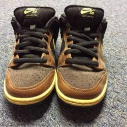 Nike sb low black tan