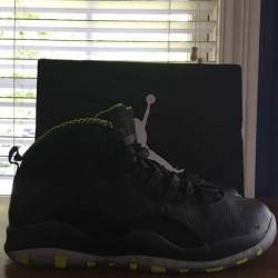 "Air jordan 10 retro ""venom"""