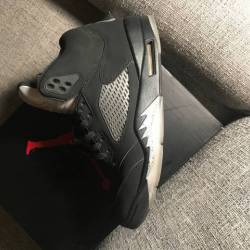 96f7a0366c2d8a BUY Air Jordan 5 OG 90 - Black   Metallic Silver