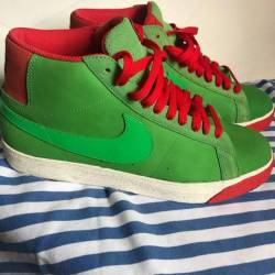 Nike sb blazer green spark siz...