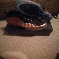 Nike foamposite one copper sz ...