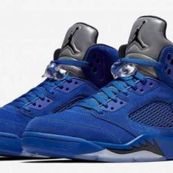 "Air jordan 5 retro ""blue suede..."