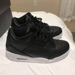 Nike retro jordan 3 black