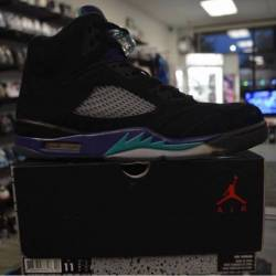 Jordan 5 grape black grape