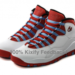 Air jordan 10 chicago flag chi