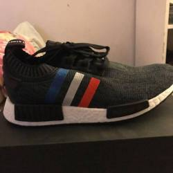 Tri color nmd black