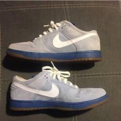 $85 Nike dunk low pro sb boarder blue